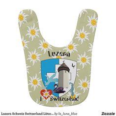 Luzern Schweiz Switzerland Lätzchen Switzerland, La Luna, Lucerne, Crests, Blue