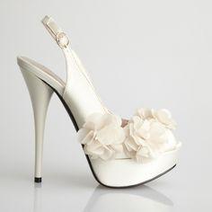 Glass Pump 01 Bridal Shoes