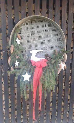Hirsch unter Sterne Ladder Decor, Dream Catcher, Winter, Home Decor, Stars, Christmas, Winter Time, Dreamcatchers, Decoration Home