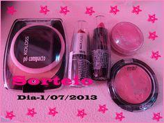 Pinkbelezura: ENCERRADO Sorteio Kit Make - Koloss