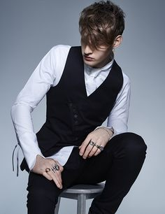 Looking for Men's Hair inspiration? Keep the back and sides short and tidy, with longer, dishevelled lengths on top, for a cool and stylish finish that isn't too 'done'. From Francesco Group's 2016 Collection. Hair Color And Cut, Hair Colours, Men's Hair, Dyed Hair, Hair Inspiration, Collections, Hairstyles, Group, Stylish