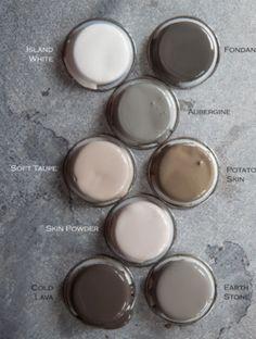 White grey tan black