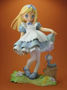 Alice in Wonderland. I plan on making this figurine in these holidays :P