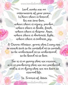 What is our world coming to? post from Sweet Little Ones. Prayer of St Francis of Assisi Featured on The Cozy Reading Spot Simple Prayers, Mom Prayers, Prayers For Strength, World Peace Quotes, Inner Peace Quotes, Saint Francis Prayer, St Francis, Prayer For Peace, Prayer Room