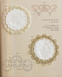 48 Tatting Patterns Tatting Lesson Japanese от LibraryPatterns