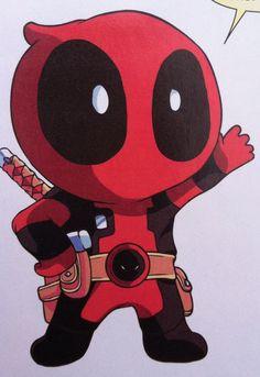 Deadpool: The Gauntlet Infinite Comic Deadpool X Spiderman, Deadpool Kawaii, Deadpool Chibi, Cute Deadpool, Deadpool Fan Art, Chibi Marvel, Deadpool Tattoo, Deadpool Quotes, Deadpool Movie