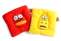 Korea Animation Larva Official Goods New Chair Cushion Pad Ver.2 (2Types) #Larva #ChairCushionPadSeatCushion