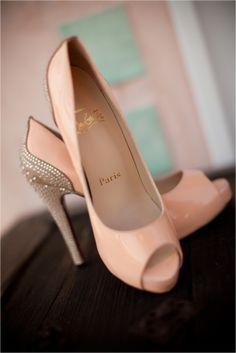Pale pink peep toes
