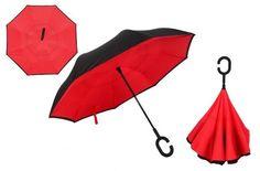 Windproof Umbrella Reversible Double Layer Inverted & Anti-UV Sun/Rain
