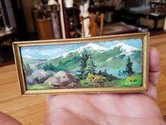 Mildred Schneider - oil painting on wood