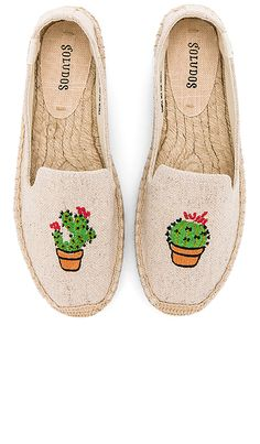 fbeabac92ea Shop for Soludos Cactus Platform in Sand at REVOLVE. Free 2-3 day shipping