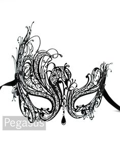 Black Swan veneziano filigrana Scroll funziona Metal di pegasus22, $26.00