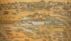 Map of the Summer Palace in Beijing — Creator unknown.