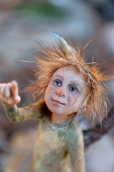 One Of A Kind Pixie Boy By Tatjana Raum Fantasy by chopoli on Etsy https://www.etsy.com/listing/93690776/one-of-a-kind-pixie-boy-by-tatjana-raum
