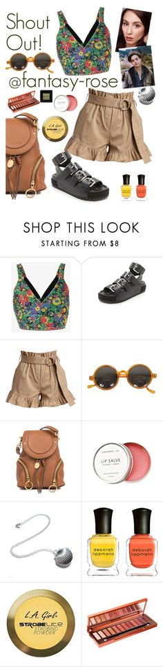 """""""SHOUT OUT! @fantasy-rose"""" by elliewriter ❤ liked on Polyvore featuring 3.1 Phillip Lim, Alexander Wang, Cinq à Sept, See by Chloé, Birchrose + Co., Deborah Lippmann, Charlotte Russe, Urban Decay and Bobbi Brown Cosmetics"""