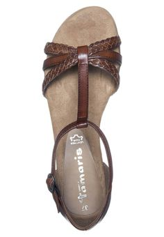 Tamaris Sandalen - Bruin - Zalando.nl Sandals, Shoes, Fashion, Slide Sandals, Moda, Shoes Sandals, Zapatos, Shoes Outlet, Fashion Styles