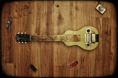 Rickenbacker with amp lap steel guitar pinterest