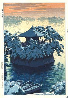 Kasamatsu Shiro - Yuki no Matsushima (Matsushima Godaido)