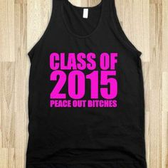 Class of 2015 - Pink - Underlinedesigns - Comment If You'd Like A Certain Color!!