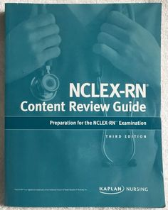 NCLEX-RN Content Review Guide 3rd Edition © 2015 Preparation for Nursing Boards