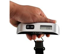 Camry Luggage Scale with Temperature Sensor and Tare Function $7.99 (amazon.com)