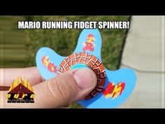 You're Not on Mushrooms, This Animated Fidget Spinner Brings Super Mario to Life