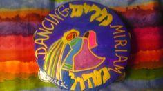 Miriam Dancing Tambourine 10inch by rivkasari on Etsy, $55.00