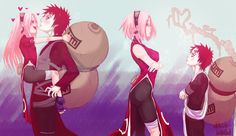 I ship Sakura with everyone, but I can't really say that I can ship her with Gaara...but this picture...Gaara Sakura