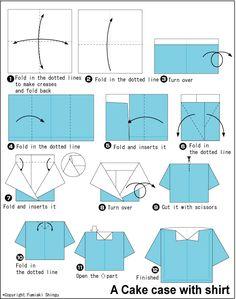 camisa origami - Buscar con Google