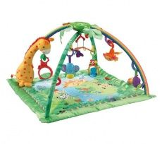 Fisher-Price Rainforest Melodies and Lights Deluxe Gym (Baby Product)By Fisher-P. Fisher-Price Rainforest Melodies and Lights Deluxe Gym (Baby Product)By Fisher-Price Fisher Price, Baby Registry Items, Baby Items, Toys R Us, Activity Mat, Mattel, Play Gym, Baby Boy, Dad Baby