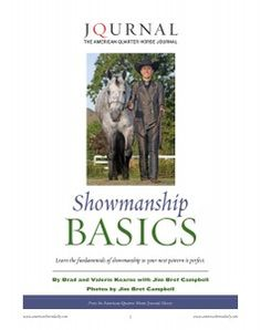 AQHA's 2008 showmanship world champion Nicole Barnes knows how to perform a perfect showmanship pattern for the judges. Learn her secrets in AQHA's FREE Showmanship Basics report!