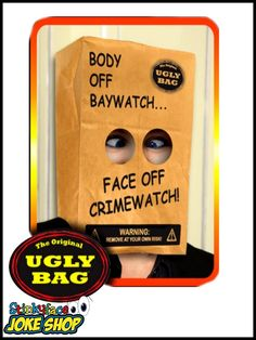 The Ugly Bag - Creams didn't work?You know when you've been hit with the ugly stick! Funny Office Jokes, Office Humour, Funny Gifts For Her, Gifts For Him, Great Jokes, Joke Gifts, Work Colleague, Novelty Gifts, Being Ugly