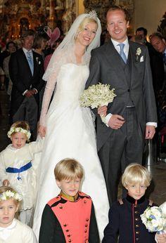 La boda de la princesa Felipa de Baviera y Christian Dienst #royals #royalty