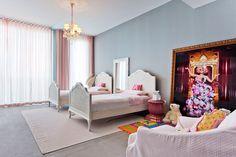 Passarelli Studio. PAS 18.11 - Trump - Miami - Kids room #decor #pink #architecture #girls