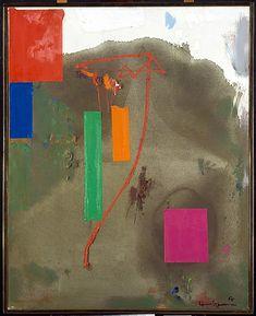 Lonely Journey / Hans Hofmann / 1965 / Oil on canvas