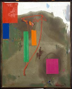 Lonely Journey / Hans Hofmann / 1965 / Oil on canvas
