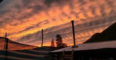 Atardecer en Pichasca #pichasca #riohurtado #atardecer #ivregion #chile #nubes