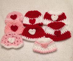 Ravelry: 1lb Micro-Preemie Hat(golf ball size) by Allison Booker