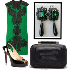 """""""Victorian Cameo earrings. Emerald tone."""" by carla-victorian-cameo-bijoux on Polyvore"""