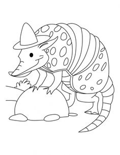 Armadillo The SPY Coloring Pages | Download Free Armadillo The SPY Coloring  Pages For