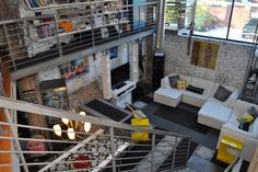 now that is a loft space!