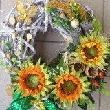 Vencek slnecnice / anad333 - SAShE.sk - Handmade Dekorácie