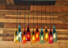 inspiracje w moim mieszkaniu: DIY butelkowe. Pomysł na zużyte szklane butelki. / DIY bottles. The idea for the worn glass bottles.
