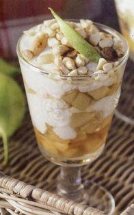 Elias Mamalakis Trifle, Good Food, Pudding, Cream, Breakfast, Desserts, Recipes, Creme Caramel, Morning Coffee