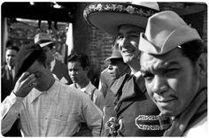 Selfie que hizo Cantinflas , toma a Jorge Negrete (sin bigote)