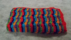 Vibrant Bright Colorful Stripes And Clusters by amydscrochet, $30.00