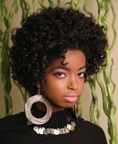 natural hair flex rod super currly fro tutorial.