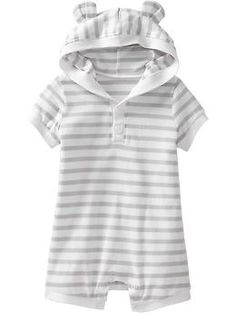 Hooded Short One-Pieces for Baby | Old Navy