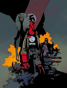 Hellboy and The B.P.R.D. #1 by Mike Mignola *