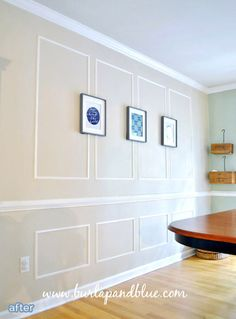 Picture Frame Moulding On Walls corner molding to separate rooms and colors | dream (future) home
